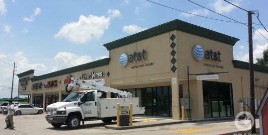at&t-business-retail-sign-houston-texas