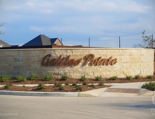 Galileo Point in  Texas City, TX – Monument Sign