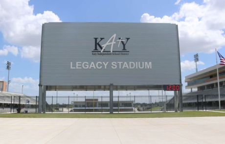 school-signs-legacy-stadium, katy-texas