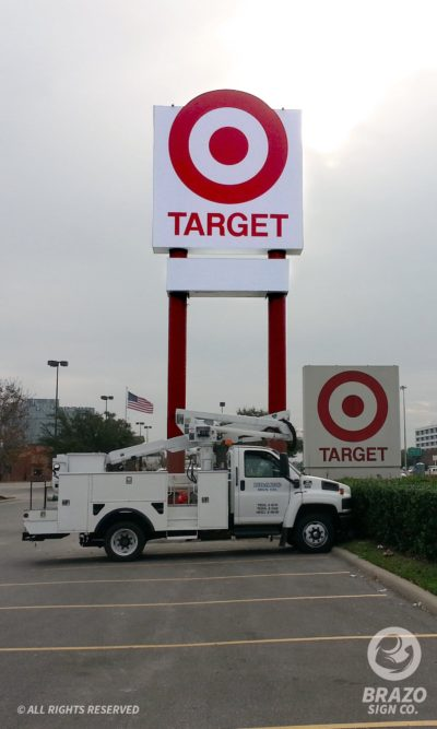 target-business-sign-houston-texas