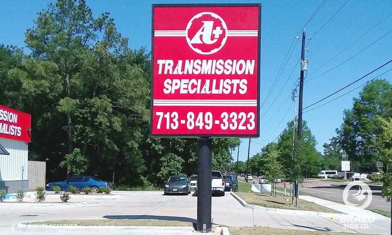 pylon-sign-a-plus-transmission-specialists-houston-texas