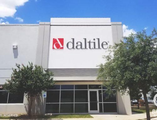 Custom Dimensional Letters – Daltile in Houston, TX