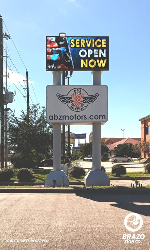 outdoor-led-sign-abz-motors-houston-texas