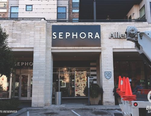 Illuminated Wall Letter Signs – Sephora in Houston, TX