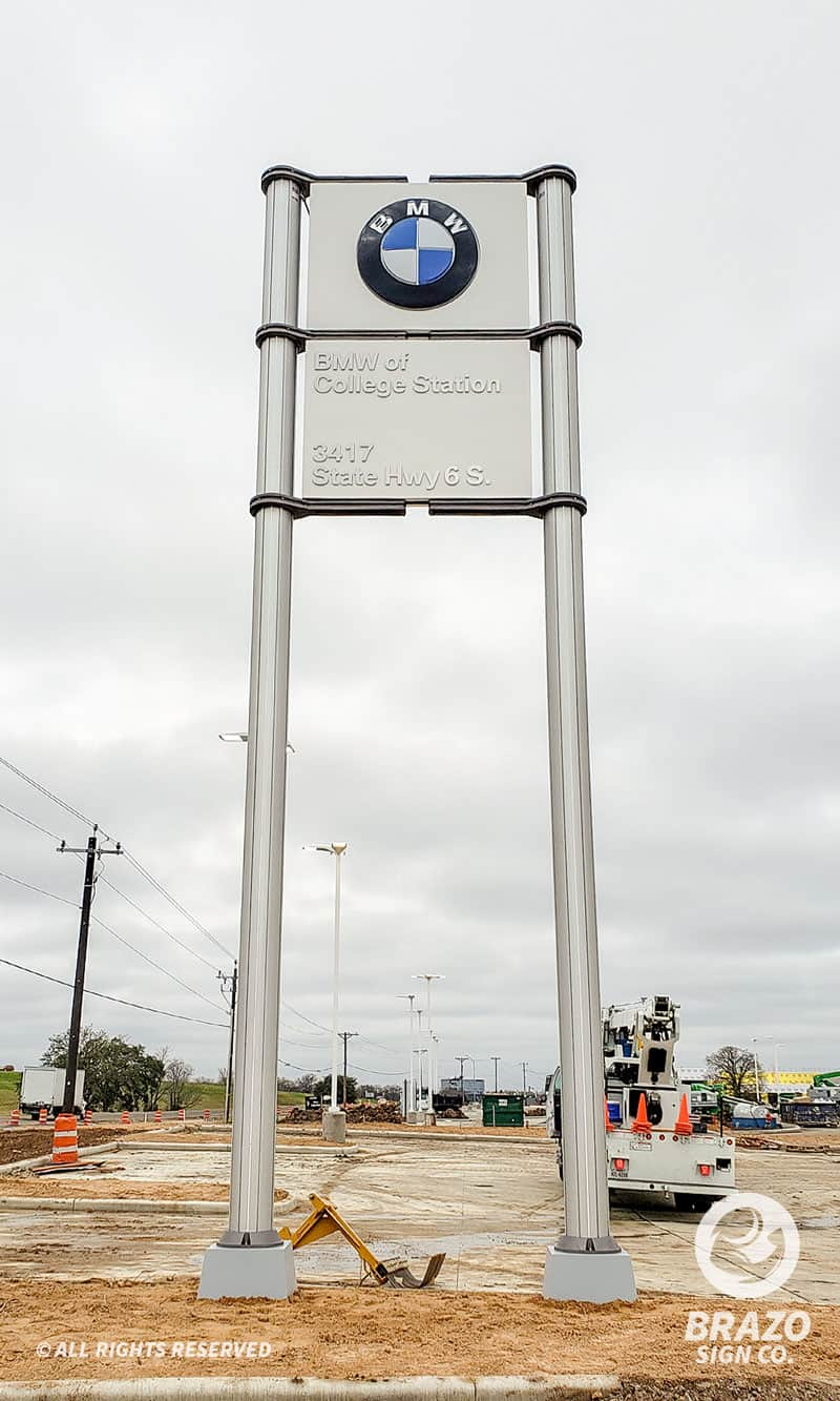 bmw-college-station-routed-push-through-building-sign-car-dealership-bmw-college-station-pylon-sign-car-dealership
