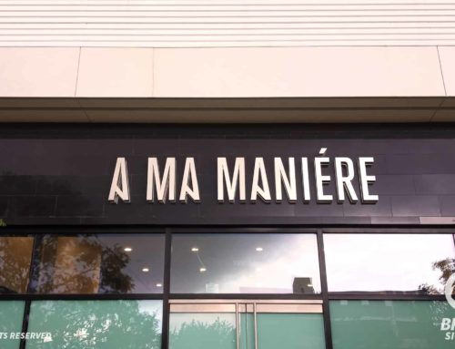Reverse Lit Channel Letters – A Ma Maniere