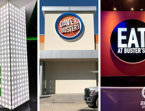 Dave & Busters New Signage